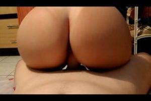 Anal e vaginal com a loira rabuda
