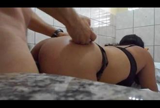 Esposa fazendo vídeo porno com amante