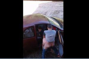 Caiu na net 2019 fazendo sexo no carro na rua vazia