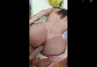 Sexo anal 2019 Brasileira dando o cu para o dotado