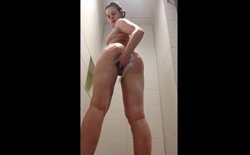 Putinha novinha filmou tomando banho
