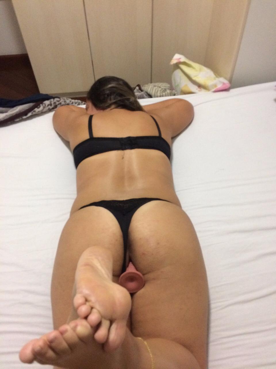 Fotos e vídeo amador esposa mamando